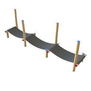 Robinia trampolinepad