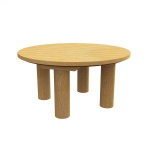 Robinia ronde tafel ten behoeve van een zandspel