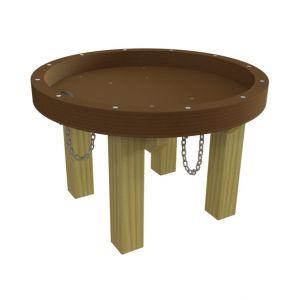 WaxedWood watertafel voor waterspel in speeltuin