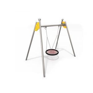 RVS vogelnestschommel voor speeltuinen