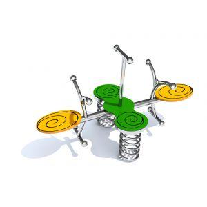 RVS gecombineerde veerwip