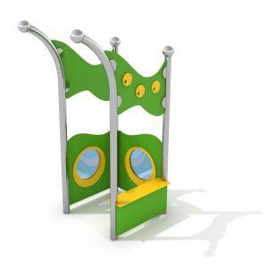 RVS speelhoekje voor kinderen