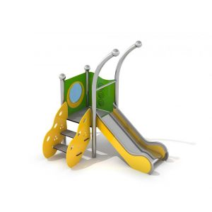 RVS speeltoren voor kleine kinderen
