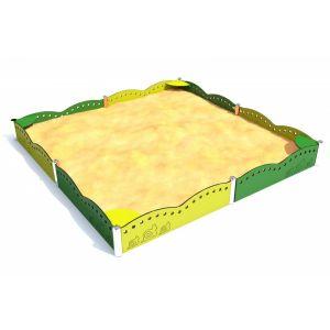 RVS zandbak voor speeltuinen