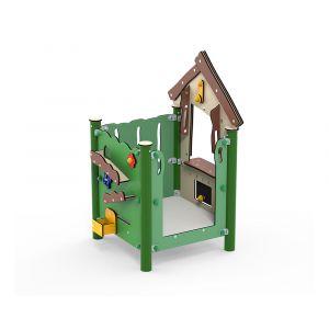 Kunststof speelkeuken of speelwinkel voor kleine kinderen