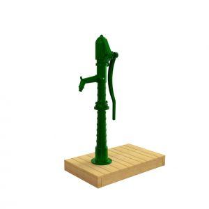 Gietijzeren waterpomp voor speelplekken